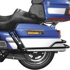 amazon com bikers choice rear saddlebag guards for harley