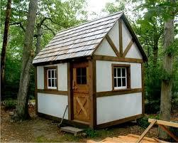 Timber Frame Cottage by Timber Framed Shed