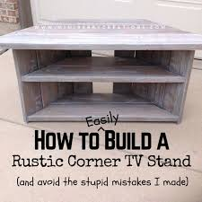 Free Plans To Build A Corner Desk by The 25 Best Diy Tv Stand Ideas On Pinterest Restoring Furniture
