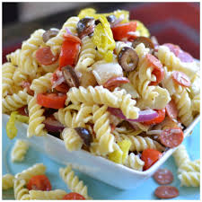 easy italian pasta salad small town woman