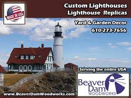 Lighthouse Garden Decor Beaver Dam Wood Works U2013 In Honey Brook Pa Manufactures Quality