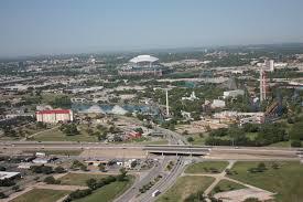 Dallas Tx Six Flags Six Flags Over Texas Aerial Views