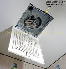 Bathroom Fan Lights How To Install A Soffit Vent And Ductwork For A Bathroom Vent Fan