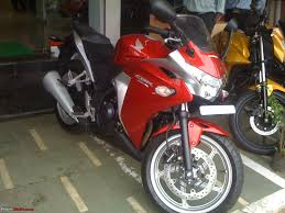 cbr bike on road price dream comes home honda cbr 250r std red team bhp