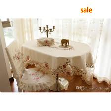 wholesale fashion elliptical table cloth oval dining table cloth