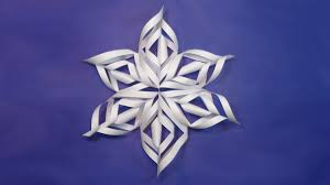 paper snowflakes making for christmas decorations diy easy
