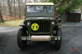 military jeep willys for sale willys mb wwii military jeep army antique classic fully