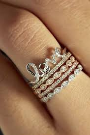 rings set images 18 best stackable wedding rings set more rings more shine jpg