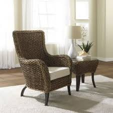 wicker living room chairs cocoye beach in petit goave haiti where time stands still located