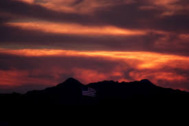 American Flag Sunset Usa Flag Free Stock Photo Public Domain Pictures
