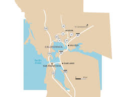 Map Of Napa Valley Napa The Grand Tour Sunset