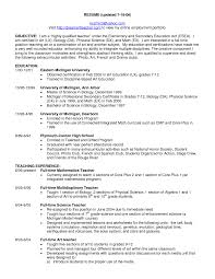 high school resume exle science resume doc cv exle language biology exles for web