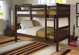Bunk Bed With Futon Couch Dakota Direct Furniture Wood Bunk Beds