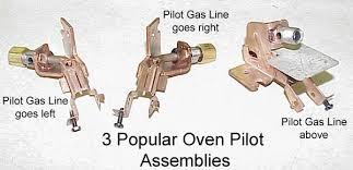 oven pilot light won t light gas range diagnostic help