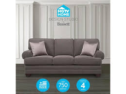 bassett hgtv home design studio customizable xl sofa great