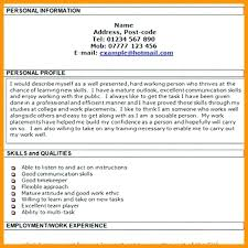 personal resume template is personal profile resume how to write personal profile in resume