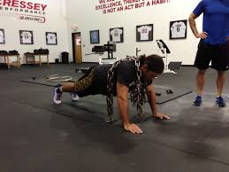 exercise of the week chain push ups stack