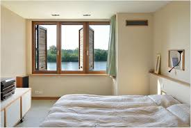 bed in small bedroom decoration home interior