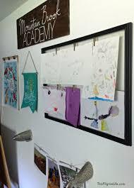 Hanging Artwork A Peek Into Our Homeschool Space This Pilgrim Life