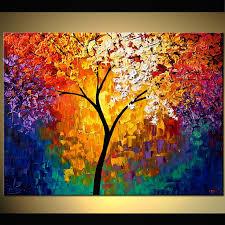 best 25 tree paintings ideas on amazing paintings
