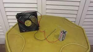 battery operated desk fan how to make a battery powered desk fan youtube
