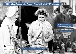 king george vi 1944 u2013 king and queen visit tre