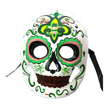 day of the dead masks of the dead mask