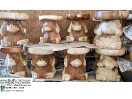 large wood carvings monkey wood carvings from bali indonesia