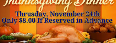thanksgiving dinner jacksonville fl nov 24 2016 2 00 pm
