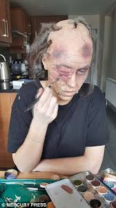 colleges for special effects makeup make up artist s horrifying transformations will give you