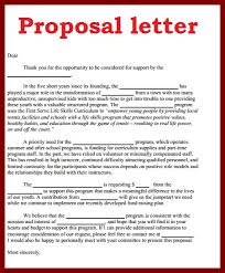 18 business proposal letter format sendletters info