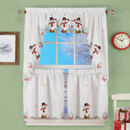 Snowman Valances Kitchen Curtains U0026 Valances Collections Etc