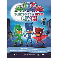 pj masks live hero u0027 hit road