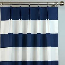 White And Navy Striped Curtains Navy Blue White Cabana Modern Wide Horizontal Stripe Curtains