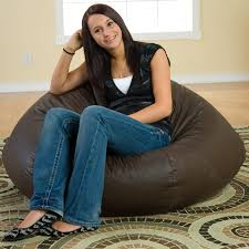 Large Bean Bag Chairs Gold Medal Fashion Large Leather Look Vinyl Bean Bag Chair Hayneedle