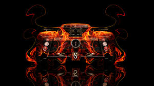 pagani back pagani zonda back fire abstract car 2014 el tony