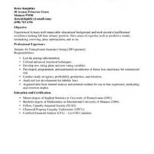 Actuarial Resume Sle Resume For Photographer 28 Images Resume Sles For