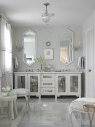 mirrored bathroom vanity storage doherty house beautiful
