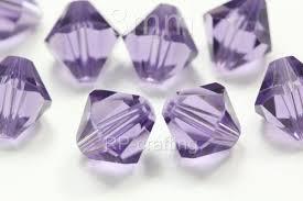 100 austria bicone crystal beads 3mm for swarovski 5301 5328 u
