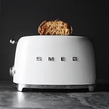 Toaster Glass Sides Smeg 2 Slice Toaster Williams Sonoma