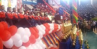 presidente inaugura segunda fase de los juegos inicia los vii juegos estudiantiles plurinacionales presidente evo