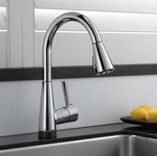 Touch Technology Kitchen Faucet Minta Touch Pull Kitchen Faucet With Touch Technology 31359