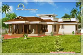bedroom house plans architecture kerala bhk single floor kerala house