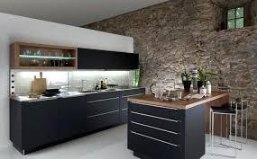 cuisine en noir cuisine retro noir mat ikea bois et lolabanet com