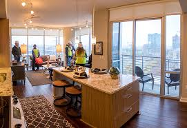 denver one bedroom apartments 35 story luxury apartment building the confluence celebrates grand