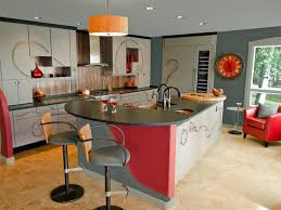 kitchen colorful kitchen decorating ideas red kitchen island full size of kitchen red and grey kitchen island with leaf and black granite countertop two