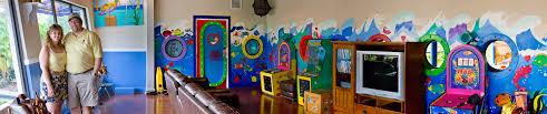amber u0027s parents panorama game room