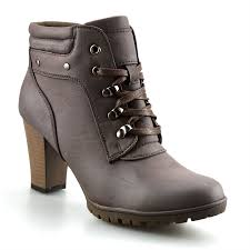 ladies brown biker boots ladies womens mid block heel zip up chelsea ankle cowboy biker boots