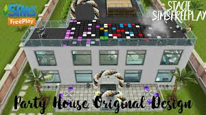 House Design Games Online Free Play by Party House Original Design By Me Stacie Simsfreeplay Youtube