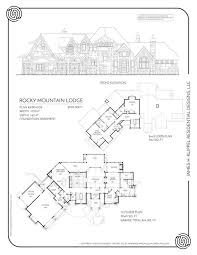 mountain lodge floor plans rocky mountain lodge rustic mountain homes amicalola home plans